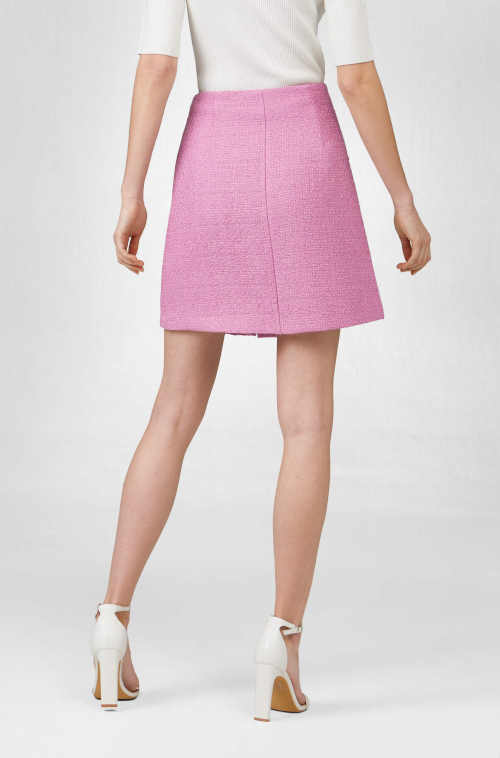 Áčková sukne na gombíky