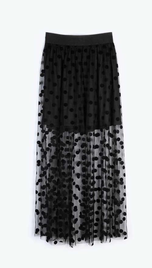 Moderná sukne v impozantnom prevedení