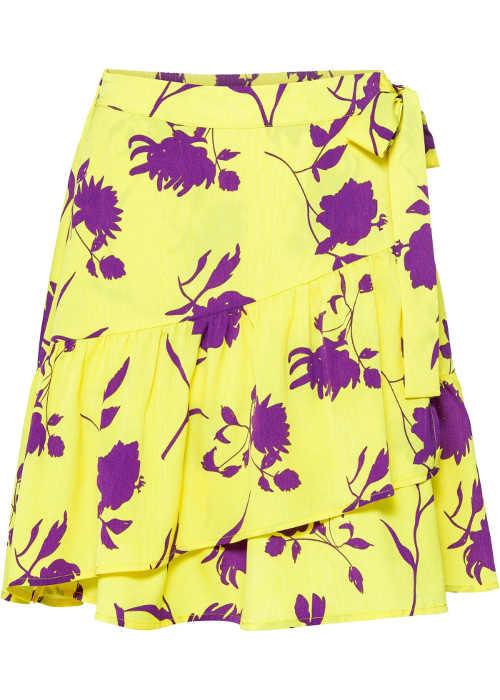 Zavinovacie sukne v impozantnej farebnej kombinácii