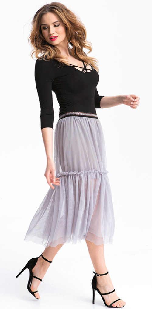 Dámska dlhá letná sukňa