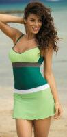 Ľahučká zelená plážová sukňa Marko