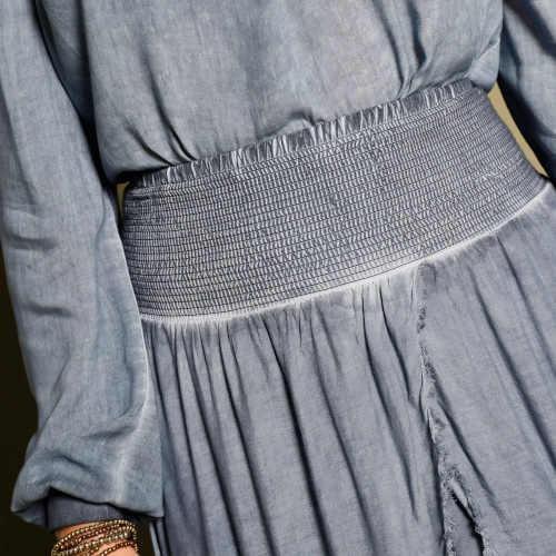 Spraná dlhá dámska sukňa