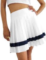 Štýlová dámska skladaná sukňa Reebok v krátkej dĺžke