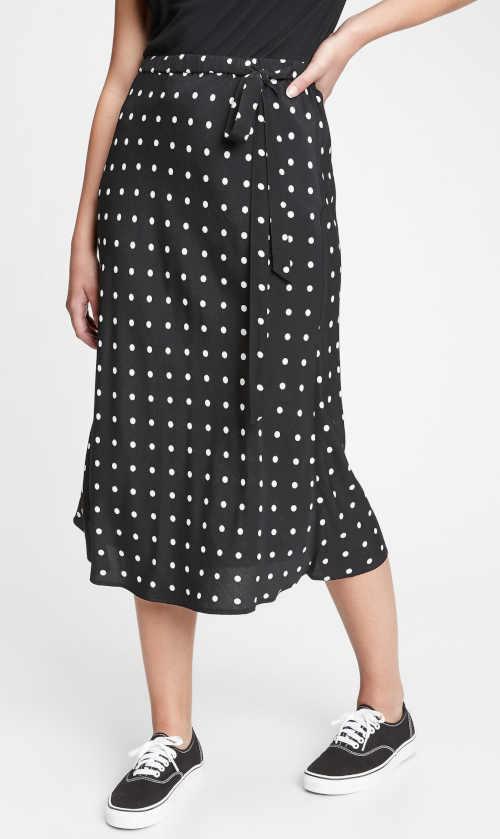 Dámska dlhá sukňa GAP v modernom vzoru z kvalitnej látky
