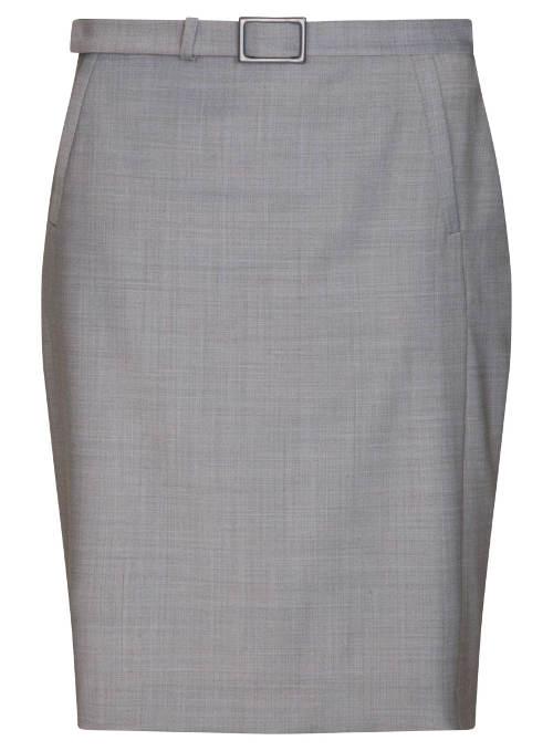 Luxusná šedá sukne Pietro Filipi