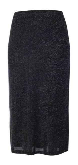 Spoločenská protikrčivá sukne pre silnejšie postavy