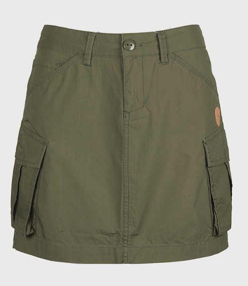 Trendy dámska sukňa army štýl