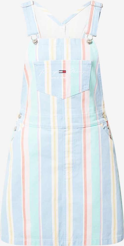 Lakovaná sukňa Tommy Jeans
