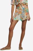 Plážová sukňa Desigual v dĺžke mini s pestrofarebným dizajnom