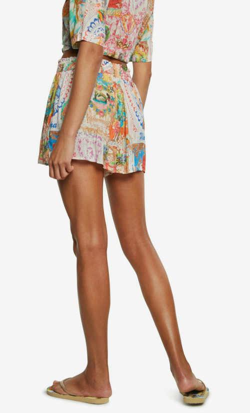 Plážová sukňa v krátkej dĺžke