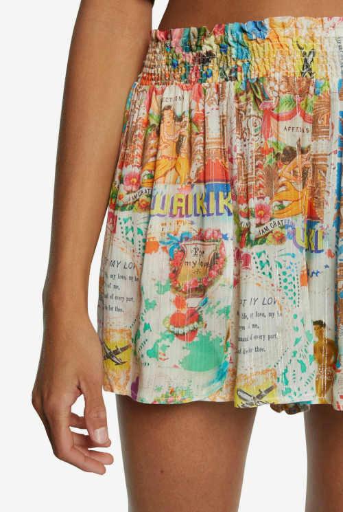 Sukňa vo farebnom prevedení