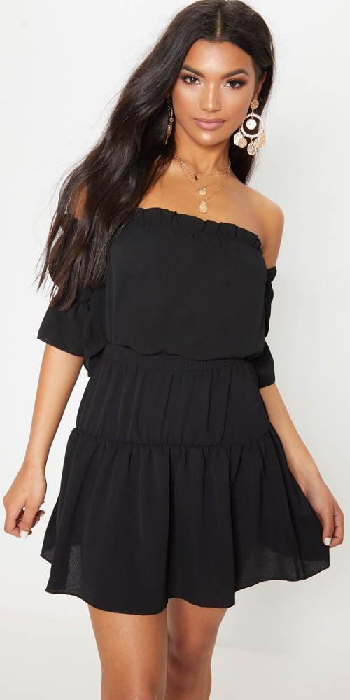 Mierne priehľadná letná sukňa