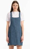 Štýlová lakovaná sukňa z kvalitnej a nemačkavej džínsoviny