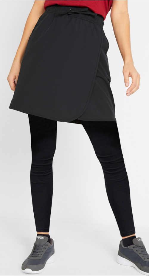 Lacná funkčná športová zavinovacia sukňa