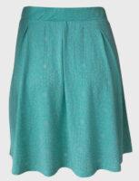 Ľahká a jednoduchá letná sukňa s elastickým pásom